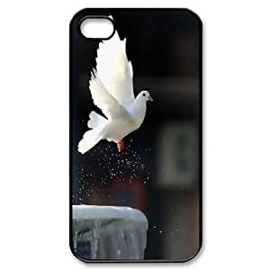 High Quality Phone Case For Iphone 4 4S case cover -White dove-LiuWeiTing Store Case 15