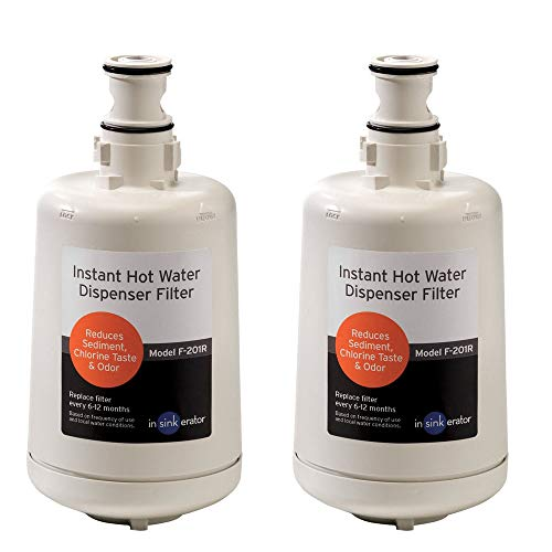 InSinkErator F-201R Replacement Water Filter Cartridges, 2-Pack