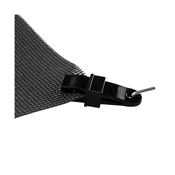 41j2NuSS02L Vorzeltteppich Soft Breite 250/300 - ZUSCHNEIDBAR - ohne Ausfransen - formfest - weich - grau - leicht - waschbar…