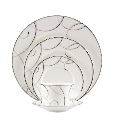 Nikko Elegant Swirl 5 Piece Place Setting