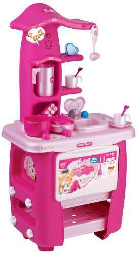 faro 2394 - cucina barbie parlante: amazon.it: giochi e giocattoli - Giochi Di Cucina Di Barbie