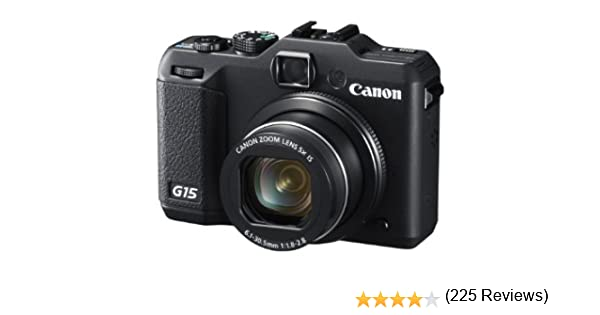 Canon PowerShot G15 - Cámara Digital compacta de 12.1 MP (3 ...