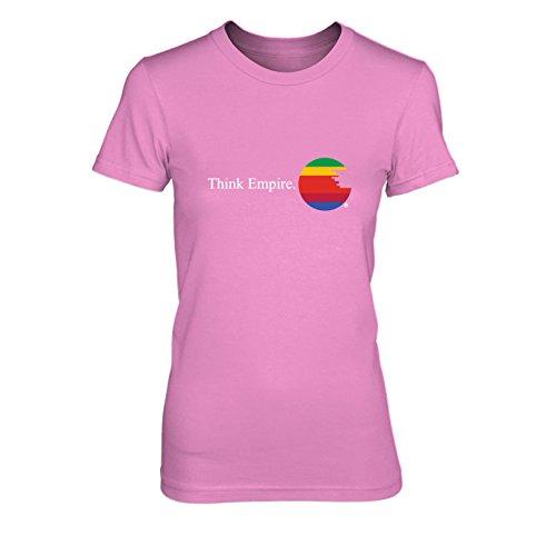 Think Empire - Damen T-Shirt, Größe: M, Farbe: pink