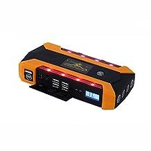 LPY-Multi-function Car Jump Starter, Portable Power Bank External Battery Pack, 600A Peak 20000mAh 12V Auto Emergency Booster Charger + USB Ports,Cigarette Lighter Socket, LED Flashlight