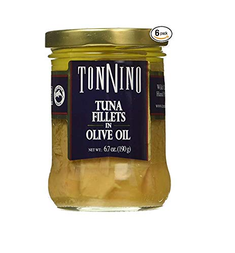 Tonnino Tuna Fillets in Olive Oil (Pack of 6) (Tuna Genova)