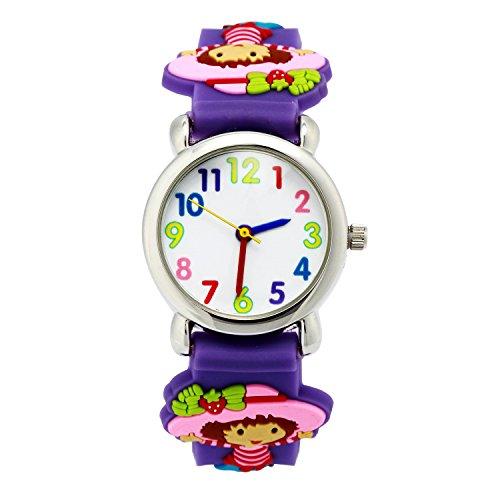 ELEOPTION Waterproof Silicone Wristwatches Children product image