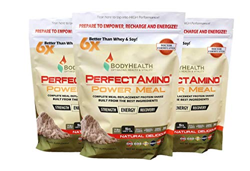 BodyHealth PerfectAmino Meal 100% Organic, Protein Oil, Weight Health, Natural