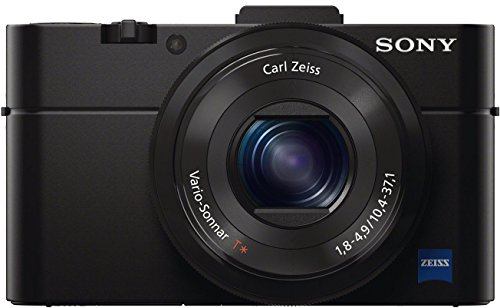 Sony RX100 II 20.2 MP Premium Compact Digital Camera w/ 1-inch sensor, MI (Multi-Interface) shoe and tilt LCD screen (DSCRX100M2/B)