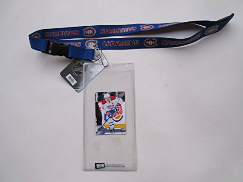 MONTREAL CANADIENS TICKET HOLDER PLUS COLLECTIBLE PLAYER CARD ()