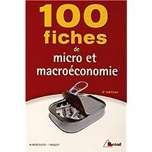 100 fiches de micro et macro économie