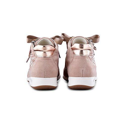 cordones metálico de para ara Zapatos 05 34422 mujer 8UIwcqHpc