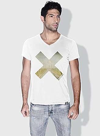 Creo India X City Love T-Shirts For Men - L, White