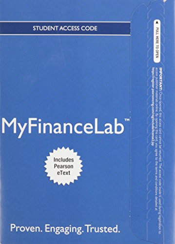 NEW MyFinanceLab with Pearson eText -- Access Card -- for Foundations of Finance