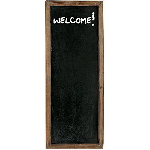 The Americana Heritage Home Framed Chalkboard, MDF and Sustainable Wood, Over 3 ½ feet Tall (45 1/4
