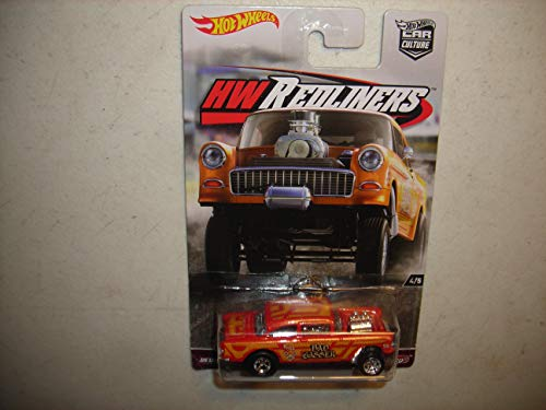 Hot Wheels 55 Chevy Bel Air Gasser Vehicle