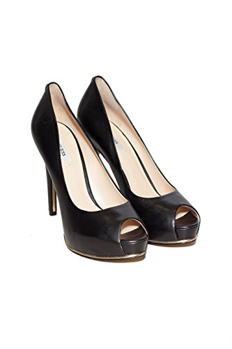 Donna Nero Mod Scarpe Honora Guess Decolletté Col Fl4honlea07 Nero Leather Shoe 5qwwvOn