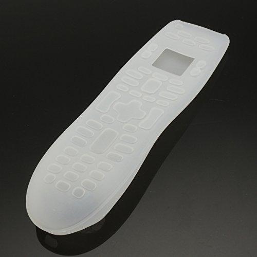 hitsan mando a distancia funda de silicona suave funda Universal para Logitech Harmony 650700una pieza