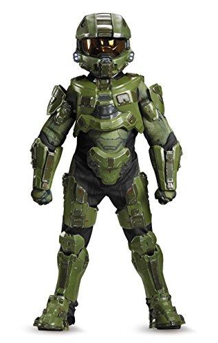 41j2QztX5IL - Master Chief Ultra Prestige Halo Microsoft Costume, Large/10-12
