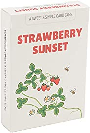 Strawberry Sunset: A Sweet & Simple Card