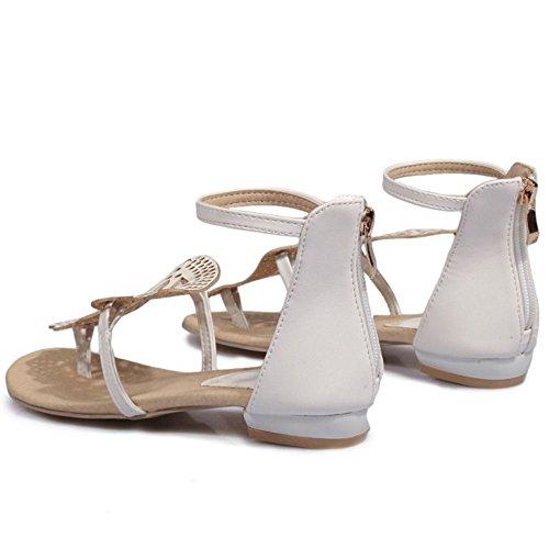 1 Sandali White Estive Zanpa Donna Scarpe Oq6aO70