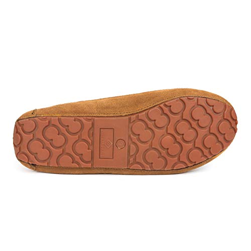 DREAM PAIRS Men's Au-Loafer-02 Tan Faux Fur Slippers Loafers Shoes Size 10 M US by DREAM PAIRS (Image #4)