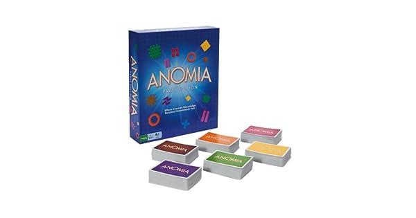 Amazon.com: Juego de cartas edición fiesta Anomia ...