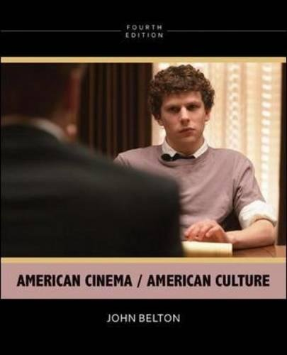 American Cinema / American Culture, 4th Edition