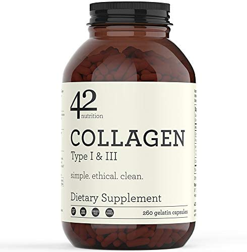 42Nutrition Collagen Pills Type Supplements product image