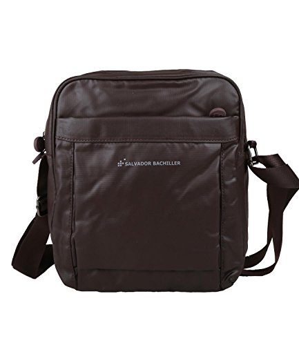 SALVADOR BACHILLER Messenger Bag - Hi-Tech 6441 - Grigio marrón