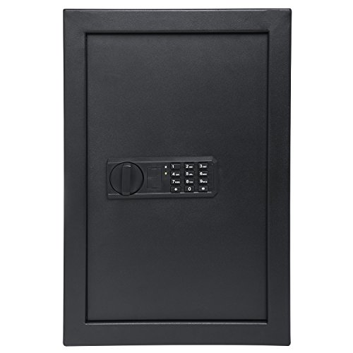 "UPC 840102171198, Ivation Wall Safe, 20.6"" x 13.8"" x 3.7"" Home Security Box, Backup Keys & Mounting Kit (Keypad)"