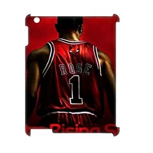 wugdiy DIY 3D Case Cover for iPad2,3,4 with Customized Derrick Rose