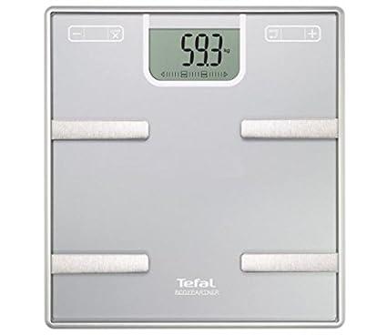 Tefal BM6000V0 Báscula Personal electrónica Plaza Plata - Báscula de baño (Báscula Personal electrónica,