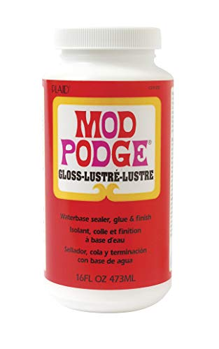 Mod Podge Waterbase Sealer, Glue and Finish (16-Ounce), CS11202 Gloss Finish from Mod Podge