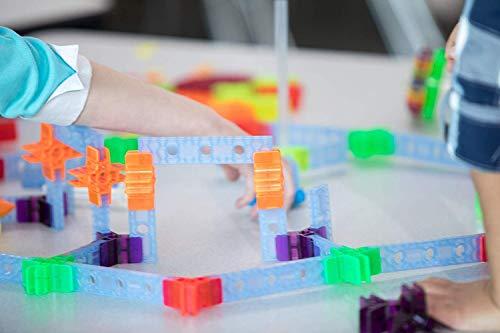 Brackitz STEAM Education Center | STEM Construction Building Block Toy | Sensory Learning Toys for Children PreK-6 | 1224 Pc Set by Brackitz (Image #7)