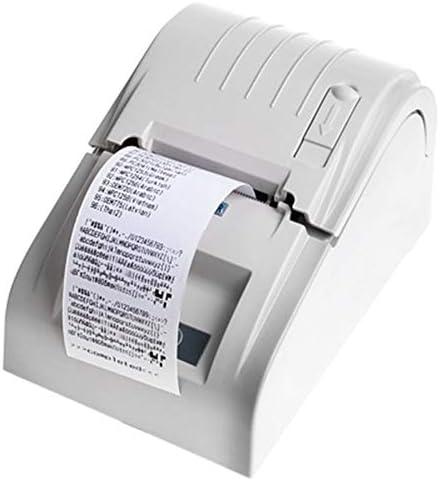 Thermodrucker, Tragbarer Thermobondrucker Mit 90 Mm/S, Einfacher Anschluss Und Zuverlässige Leistung Kompatibler ESC/POS-Befehl