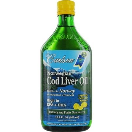 Carlson Labs Norwegian Cod Liver Oil by Carlson Laboratories