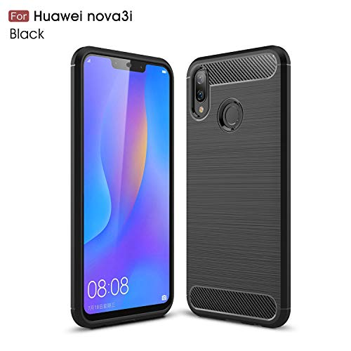 da4f37dd979b67 MYLB Compatible with Huawei Nova 3i case/Huawei P Smart Plus Case,Lightweight  Carbon