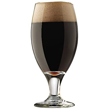 Libbey Craft Brews 14.75-Ounce Clear Porter/Stout Glass Set,  4-Piece