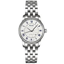 Mido Baroncelli II Automatic Silver Dial Stainless Steel Ladies Watch M76004211