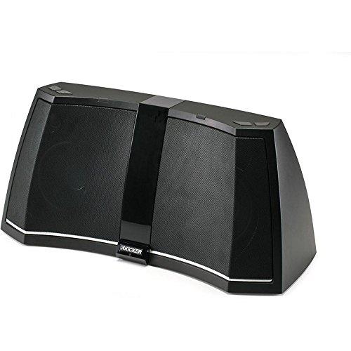 Kicker iK5BT2 Wireless Bluetooth USB/AUX Stereo Audio System 40IK5BT2 + Remote