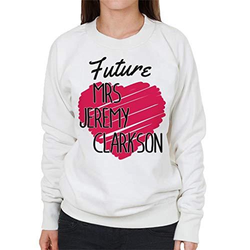 Jeremy Future Sweatshirt Women's White Mrs Clarkson wpx0BxHAq