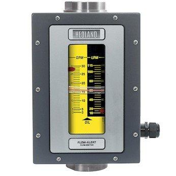 Hedland H201S-010-F2 - Medidor de aceite y petróleo con interruptor, 0,1 – 1,0 GPM, SS