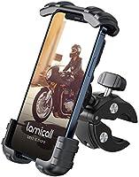 Lamicall Support Téléphone de Vélo, Support Téléphone de Moto - Support Guidonavec 360° Rotation pour iPhone 12, 11 Pro,...