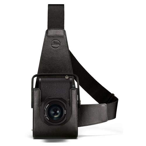 Leica Holster Case for Q2 Compact Camera, Leather, Black