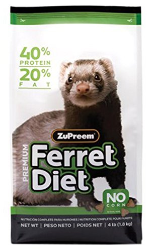 ZUPREEM 230056 Prem Ferret Diet Food, 4-Pound by ZuPreem
