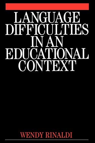 Language Difficulties in an Educational