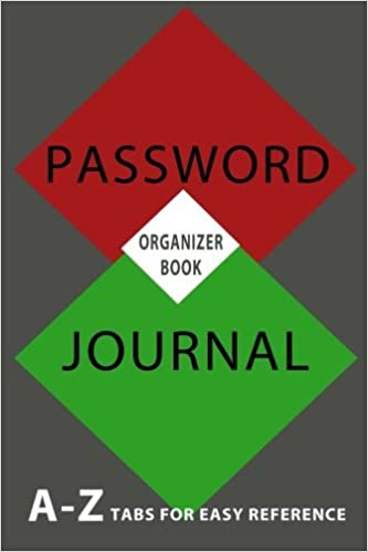 Password Keeper Password Logbook amp Password Organizer Keep track webpage username and password Volume 5