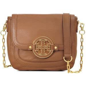 Tory burch amanda round crossbody link chain strap royal for Tory burch jewelry amazon