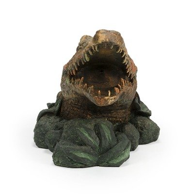 Aquascape Alligator Fountain Spitter for Pond, Container Water Gardens, and Water Features, Poly-Resin | 78208 by Aquascape