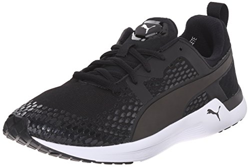 Puma pulso Xt 3-d Ejecución de la zapatilla de deporte de Nueva Black/White